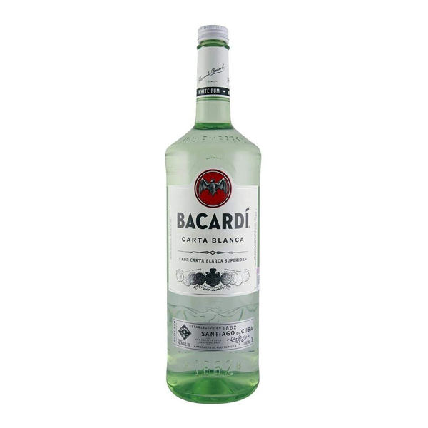 Ron Bacardi Blanco 3000ml